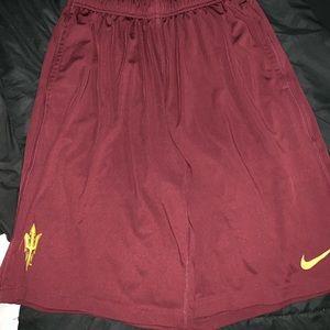 Nike Dri-Fit ASU basketball shorts